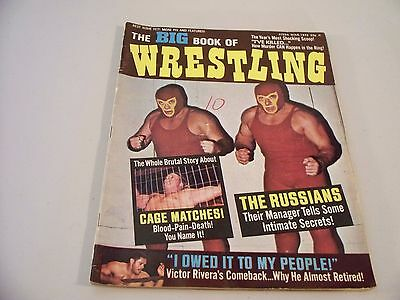The Big Book Of Wrestling March 1972  Magazine