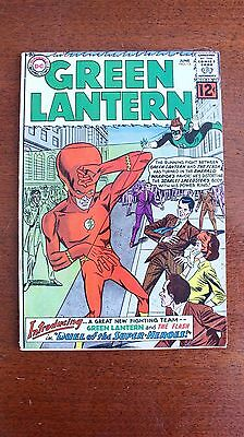 "Green Lantern #13, ""Duel of the Superheroes"" Flash 1962  6.5"