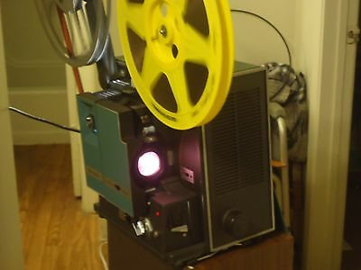 bell and howell 16 mm movie sound projector