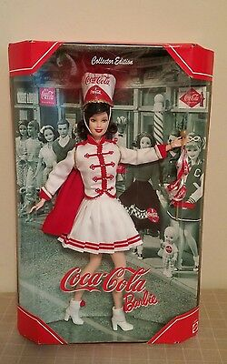 Coca Cola Barbie Doll Majorette Band Collector Edition Fifth In The Series NIB