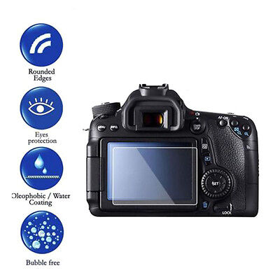 Tempered Glass LCD Screen Protector Film Cover Protective for Canon 70D 80D 700D