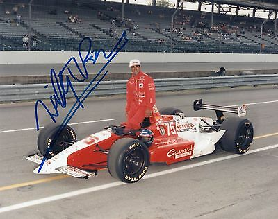 Willy T Ribbs autographed 1993 Indy 500 8x10 photo