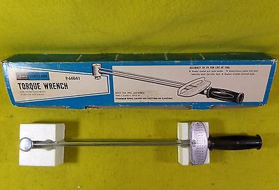 "Sears Craftsman Torque Wrench 944641 Tool In Original Box ""ships Free"""