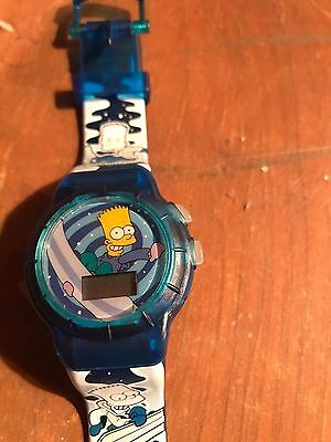 Burger King Bart Simpson Watches