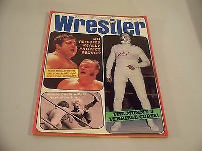 The Wrestler Victory Sports Series January 1972 Magazine