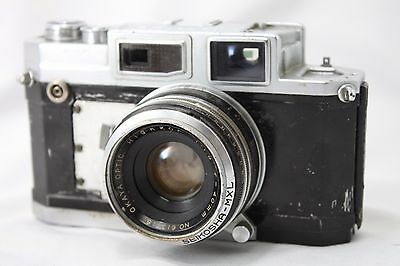 **Very Rare** Okyaya Kogaku Lord SE Film Camera **For Parts** #Z015f