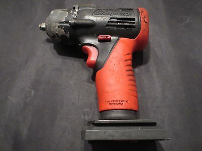 "Snap On Tools 14.4 Volt 3/8"" Drive Cordless Impact Wrench - Ni Cad - Works Great"