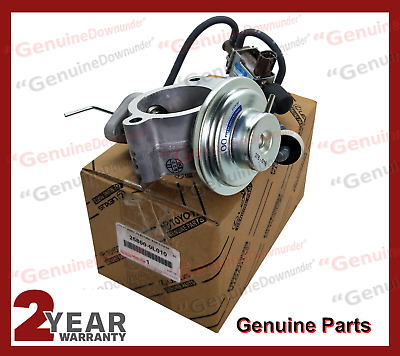 Valve Assembly EGR GENUINE HILUX KUN26 Exhaust Gas Return 1KD-FTV 25800-0L010