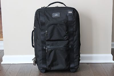 Tumi Alpha Bravo McConnell International Black Carry-On Classic - 22420DH2 BLACK