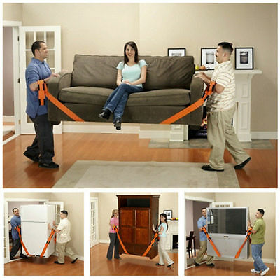 House Moving Straps 2-Person Lifting and Moving System House Moving Helper 2 PCs
