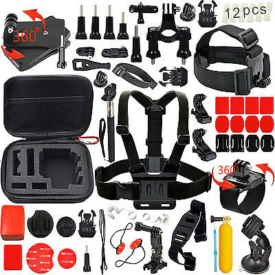 Brand New Sport Accessories Outdoor Kit Bundle for Gopro Hero 5/4/3+/3/2/1