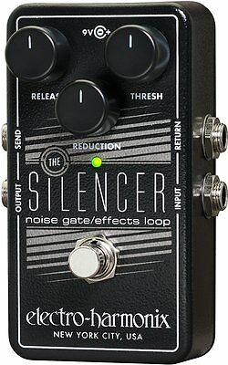 Silencer Noise Gate/Effects Loop Guitar Pedal, ELECTRO HARMONIX,