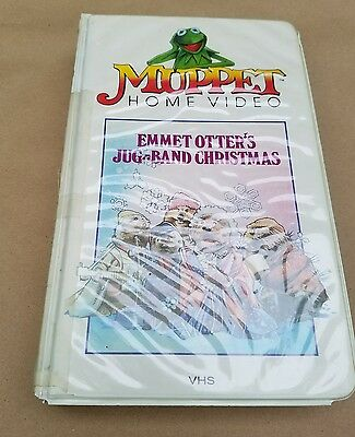 Emmet Otter's Jug Band Muppet Christmas from 1977 used very rare VHS !!!!!