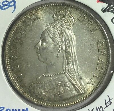 Great Britain 1889 Crown Coin
