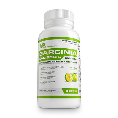 Garcinia Cambogia - 80% HCA - Pure Extract - Weight Loss Supplement- 60 Capsules
