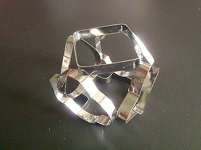 Vintage 6-sided Eko Holland Cookie Cutter / Metal cookie cutters