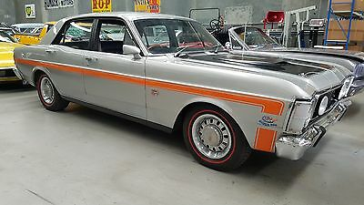 FORD FALCON XW GT THEMED SILVER FOX ! AUTO  302 v8 auto  relisted due to phantom