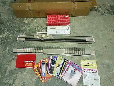 Vintage Knitking Knitting Machine W/ Extra's Germany Mint