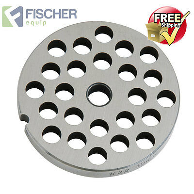 """new"" Mincer - Grinder Cutting Plate 10Mm For #22 Mincer - Other Sizes Available"
