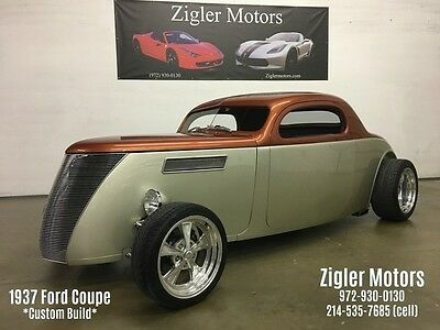 1937 Ford Other  1937 Ford Coupe Custom Rod 3 window 5.7LT1 Engine Automatic