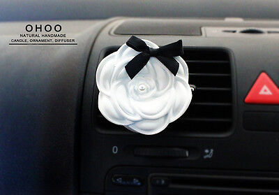 *Camellia  Car Vent clip* PLASTER AIR FRESHENERS Air Freshener Scent