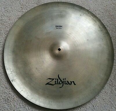 "Zildjian A Series 20"" Swish China Cymbal - Excellent condition - Rare"