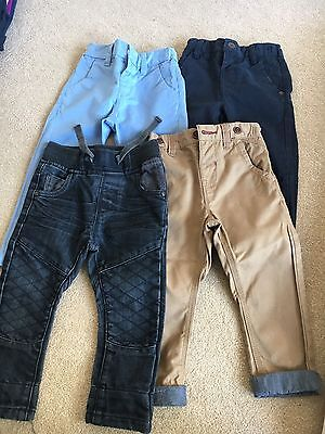 4 Pairs Of Next Trousers 12-18 Months