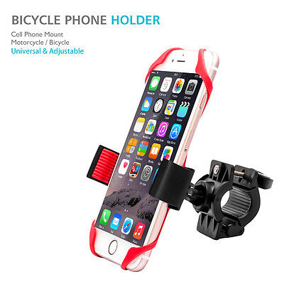 Universal 360 Degree Cell Phone Mount Holder Motorcycle Bicycle Motorbike Stand