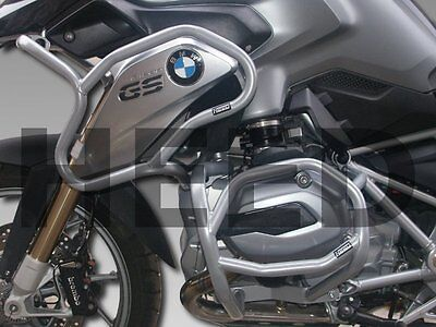 Defensa de motor Heed BMW R 1200 GS (2013 - 2016) - Full Bunker Exclusive, plata