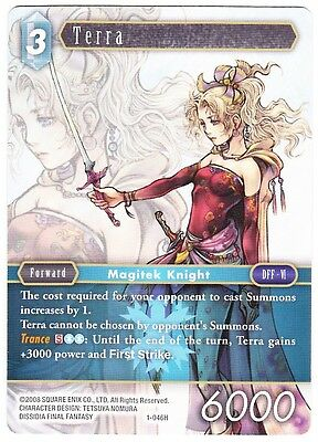 Terra (1-046H) - Hero Card - Final Fantasy Tcg Opus 1 English