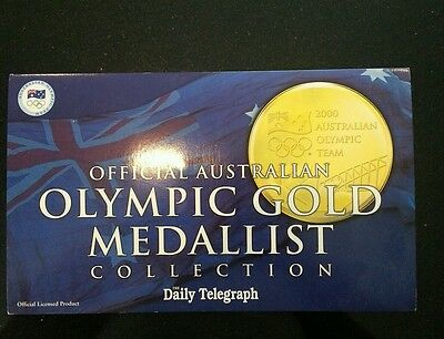 Australian Olympic gold medalist collection 2000