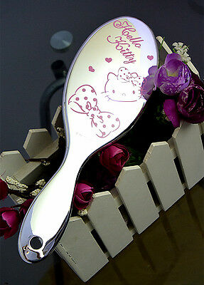 Genuine New Silver Plated Hellokitty Make Up Hand Comb 4517052417718