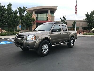 2003 Nissan Frontier Super Charged 2003 Nissan Frontier Crew Cab 4X4 Super Charged 4 Wheel Drive Pick Up
