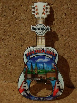 HRC Hard Rock Cafe Hamburg City Tee Magnet Bottle Opener V16 NWT