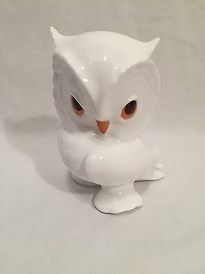 Royal Osborne China, Bone China White Owl Figurine Ornament 1419
