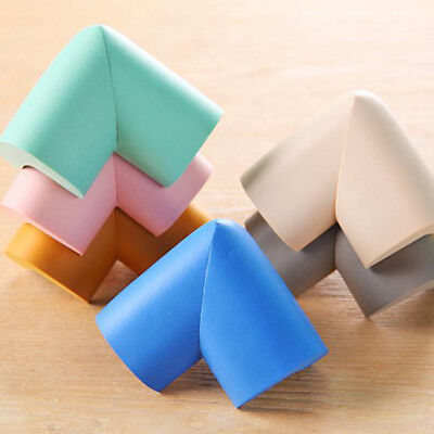 4pcs Baby Safety Table desk Edge Cushion Guard Bumper Corner Protector TU