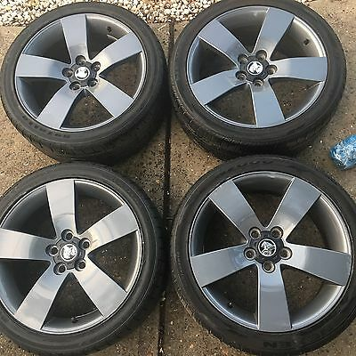 Genuine Holden Thunder SSV 19 Inch Wheels And Tyres