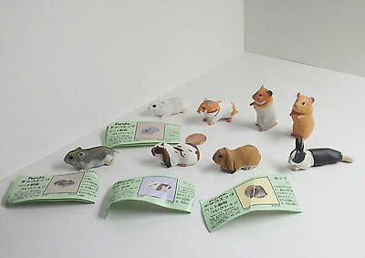 Choco Egg & Q / Pet Animals Collection Set of 8 [hamsters & rabbits] 421D