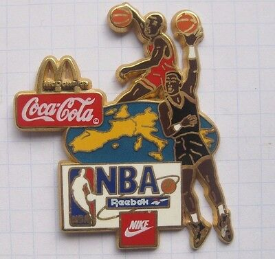 M / COCA-COLA / NBA / NIKE / REEBOK / BASKETTBALL........Mc DONALD`s -Pin (142b)