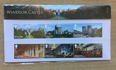 Royal Mail Windsor Castle and St George's Chapel Presentation Stamps 2017