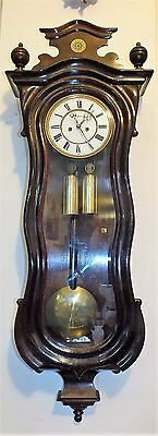 115cm H ERNST DOHRMANN - GERMANY Tolle SERPENTINE  Wiener Vienna Regulator