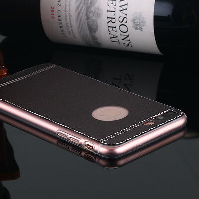 for Apple iPhone 7 Plus Ultra Slim Shockproof PU Leather Bumper TPU Case Cover