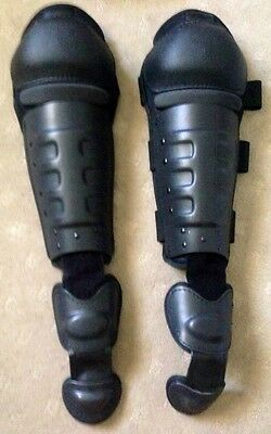 Security Tactical Knee Shin Foot Pad Guards Pivot System Sport/Motocross/Safety