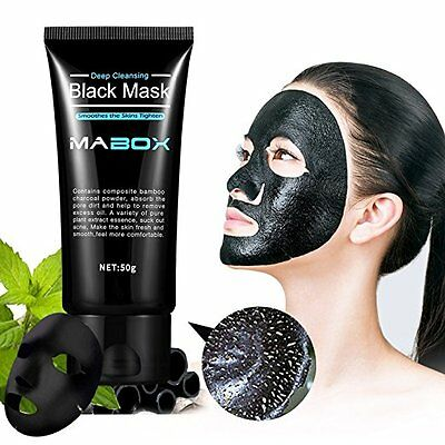 Blackhead Remover Deep Cleansing Peel Off Black Mask Active Charcoal Tearing Mas