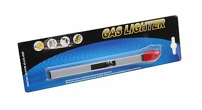 Gas Lighter Bbq Cooker Hob Stove Camping Fire Refillable Long Reach
