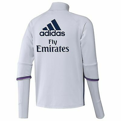 Adult M Real Madrid Training Top White RM5