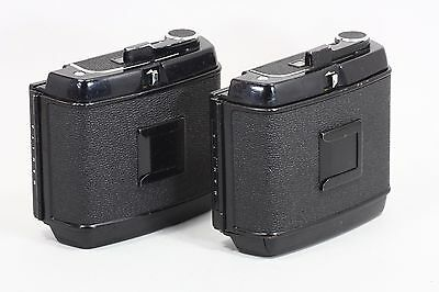 [EXCELLENT+++] MAMIYA RB67 PRO 120 Film Back Holder 2 pieces from japan #559