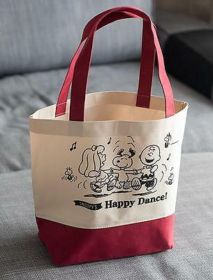 Cute For Snoopy Peanuts Food Fruit Shopping Bag Handbag Schoolbag Lunch Box bag