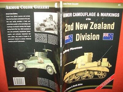 Progres Armor Color Gallery ACG 1, 2nd NEW ZEALAND DIVISION Camouflage& Markings