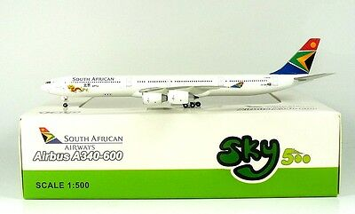 SKY500 South African Airways A340-600 1:500 Reg. ZS-SNG (0733)